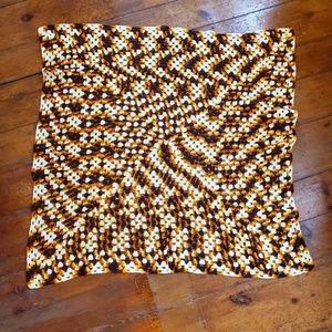 Vintage | Crochet Blanket Fall Throw